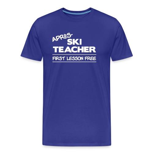 Apres ski teacher - Männer Premium T-Shirt