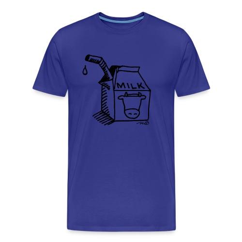 melk - Mannen Premium T-shirt