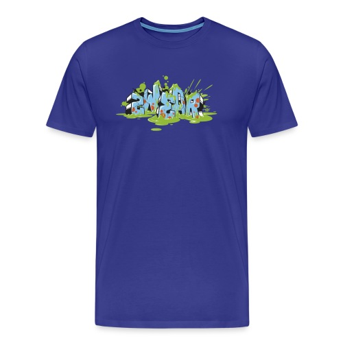 Graffiti Blocks - 2wear Classic's - Herre premium T-shirt