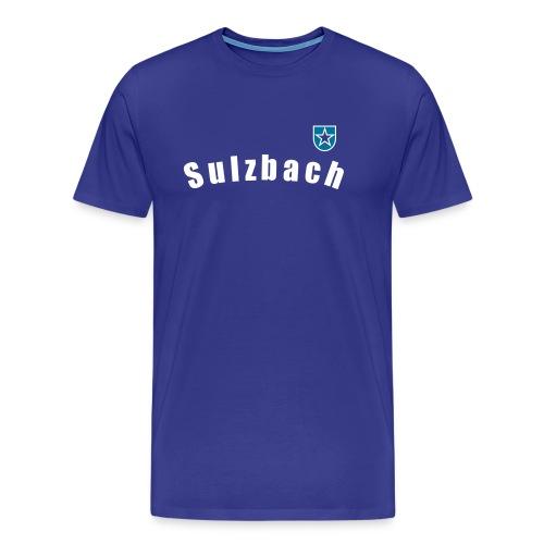 Wappen Sulzbach - Männer Premium T-Shirt