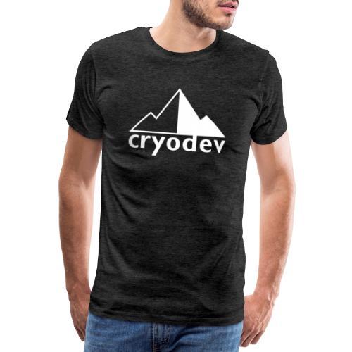 Cryodev AB Logo - Premium-T-shirt herr