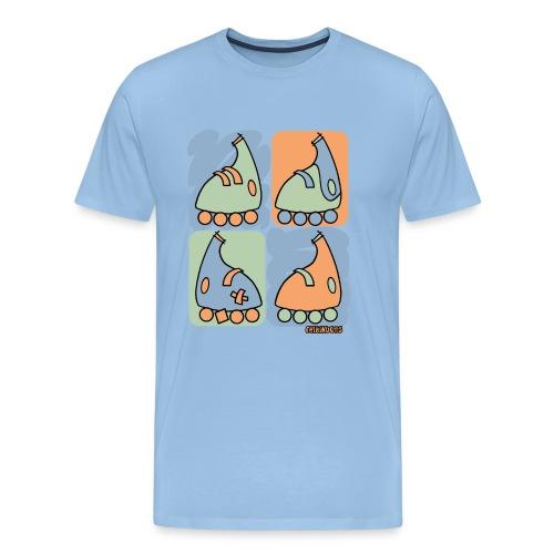 Patin Warhol - Camiseta premium hombre