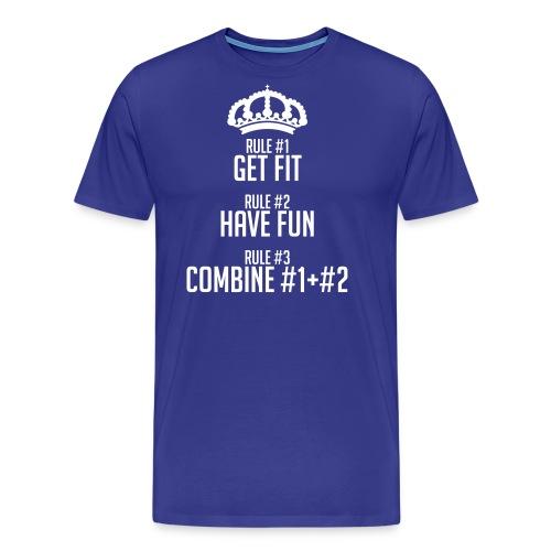 FITNESS RULES - Camiseta premium hombre