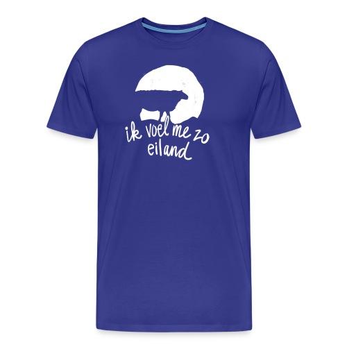 Ik voel me zo eiland - Mannen Premium T-shirt