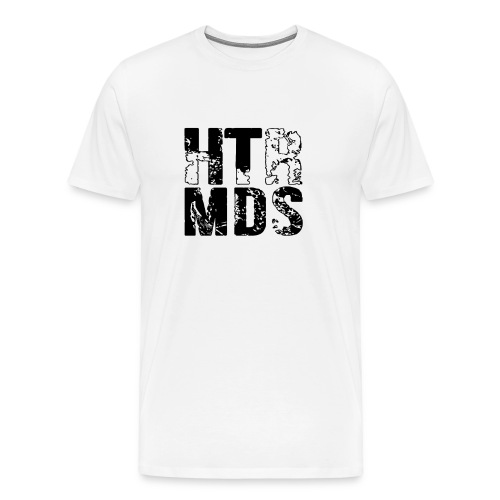 HTR MDS Logo weiß - Männer Premium T-Shirt