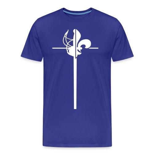 AMHE IDF 2015 fleuret - T-shirt Premium Homme