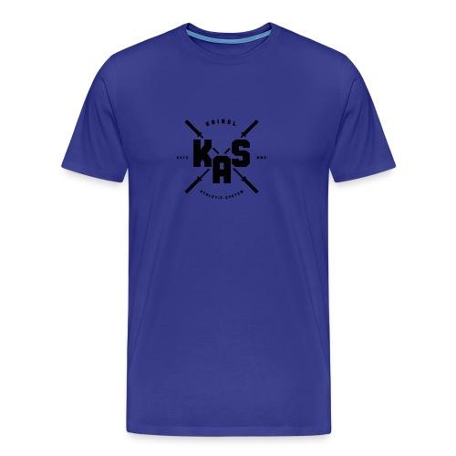 K.A.S. Logo black - Männer Premium T-Shirt