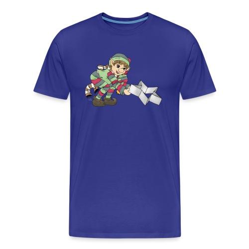 Weihnachtswichtel - Männer Premium T-Shirt