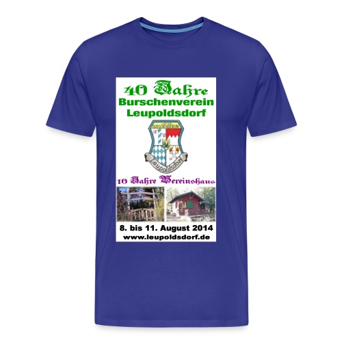 40 Jahre Shirt jpg - Männer Premium T-Shirt