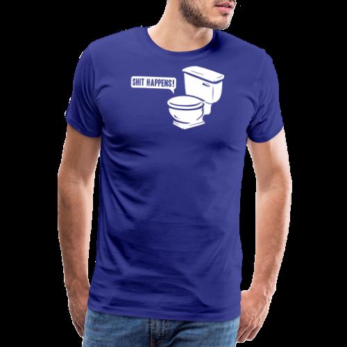 T-shirt, Shit happens - Premium-T-shirt herr
