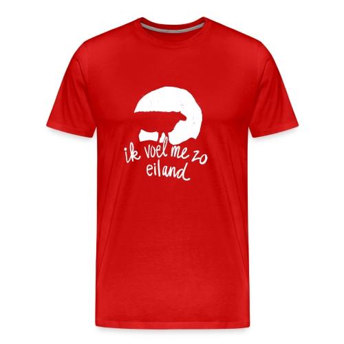 Eiland shirt - Mannen Premium T-shirt