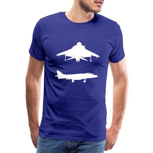 Hovering Sea Harrier FA/2 - Men's Premium T-Shirt