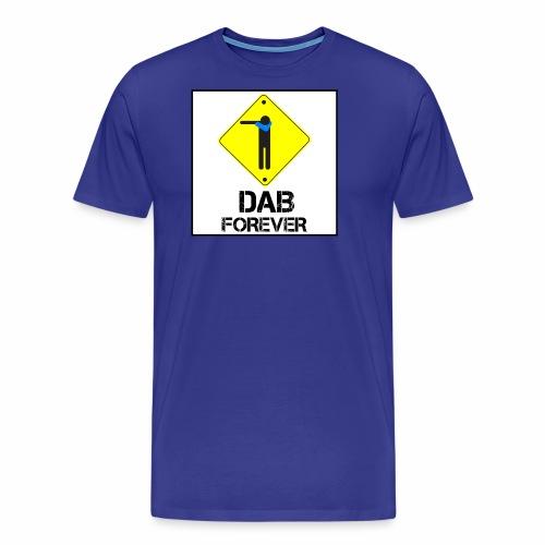 Dab Forever Yellow Black - Maglietta Premium da uomo