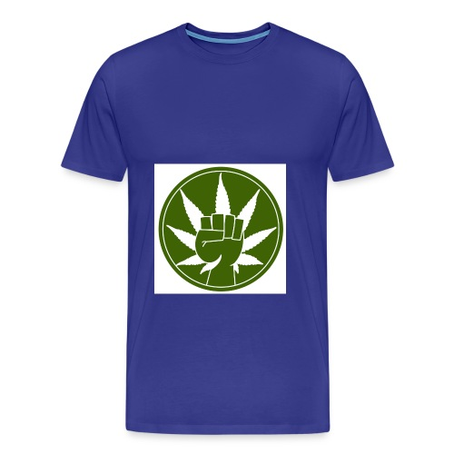 Call for legal marijuana jpg - Männer Premium T-Shirt