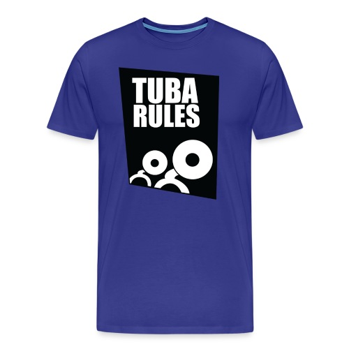 tuba rules 1 - Mannen Premium T-shirt