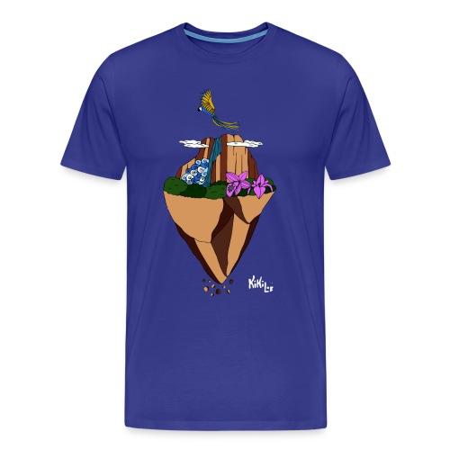Salto Ángel flotante - Camiseta premium hombre