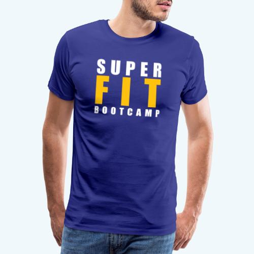 Superfit Logo on colour (non white) products - Men's Premium T-Shirt