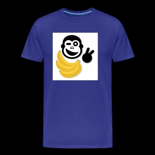 Treue Bananen Logo - Männer Premium T-Shirt