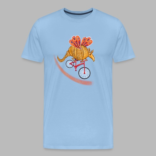 Flying Armadillo - Men's Premium T-Shirt