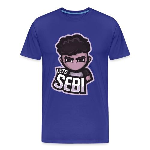 Cartoon LetsSebi - Männer Premium T-Shirt