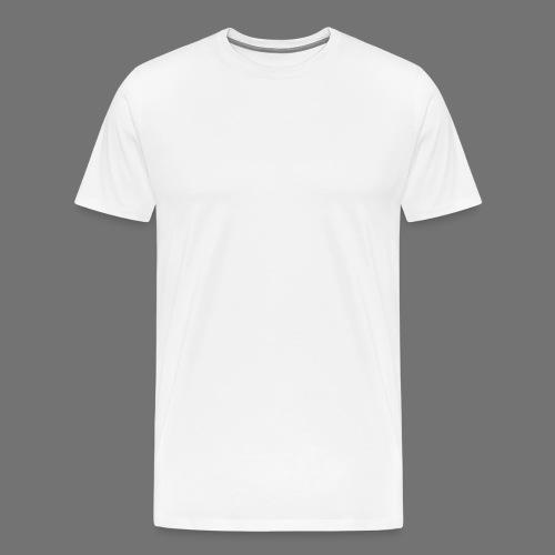 160 BPM (white typo) - Miesten premium t-paita
