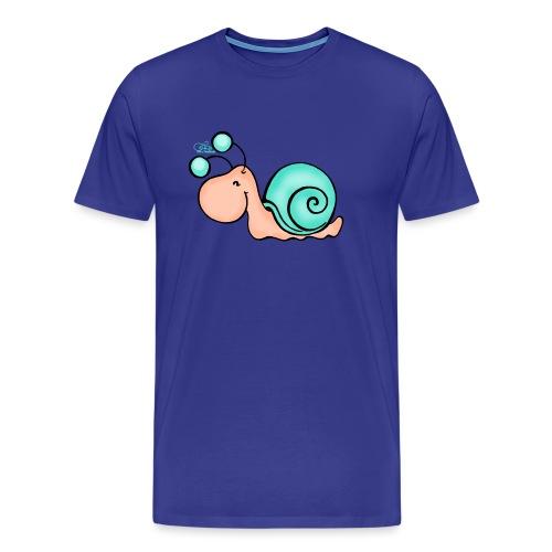 Schnucki Schneck - Männer Premium T-Shirt