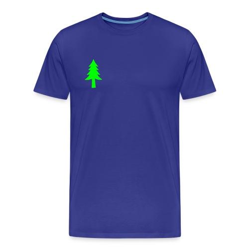 Sapin unicolor - T-shirt Premium Homme