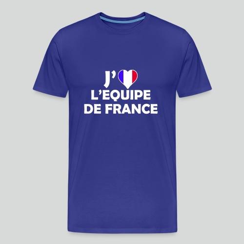 J'aime L'équipe de France (B) - T-shirt Premium Homme