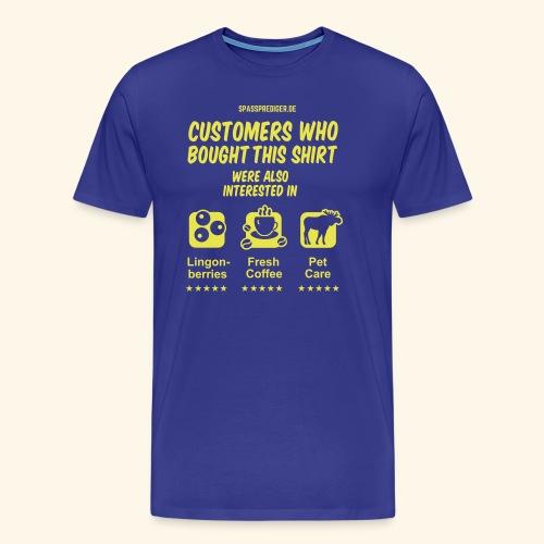 Recommendation, Sweden - Männer Premium T-Shirt
