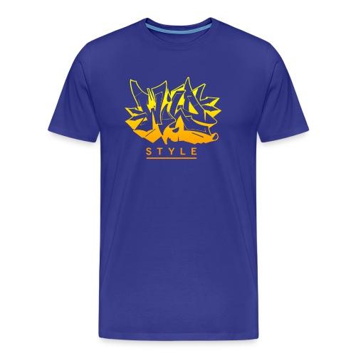 Wild Style Burner - Herre premium T-shirt