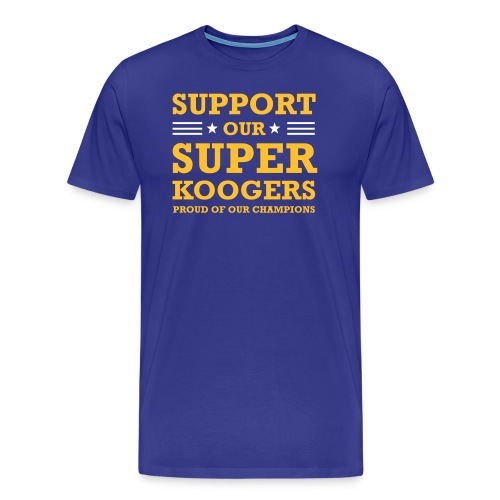 support our superkoogers - Mannen Premium T-shirt