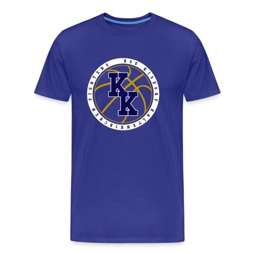 BSG Varsity Blue - Männer Premium T-Shirt
