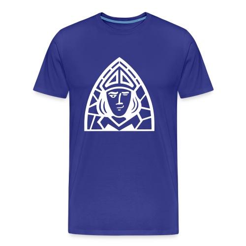 Smirking St Aldhelm - Men's Premium T-Shirt