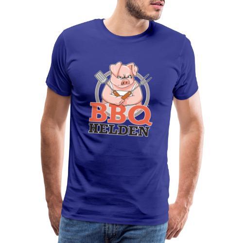 3d logo voorkant - Mannen Premium T-shirt