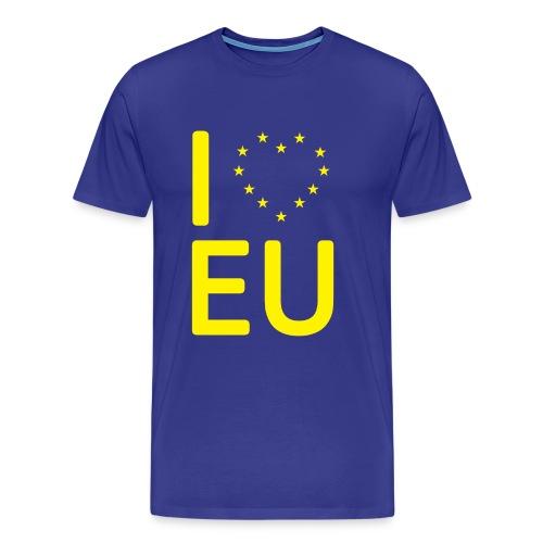 eu shirt transparent - Men's Premium T-Shirt