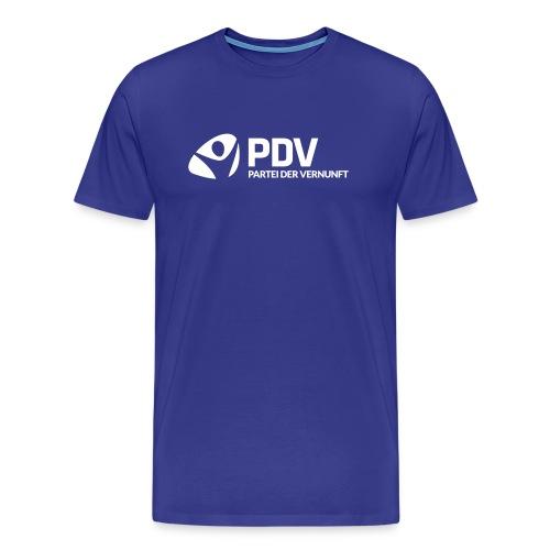 pdv logo neg - Männer Premium T-Shirt