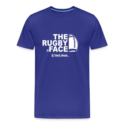 the face of rugby - T-shirt Premium Homme