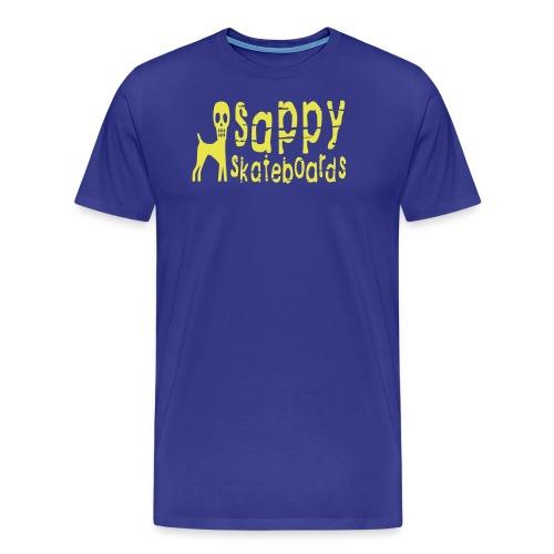 sappylogo foerenklad - Premium-T-shirt herr