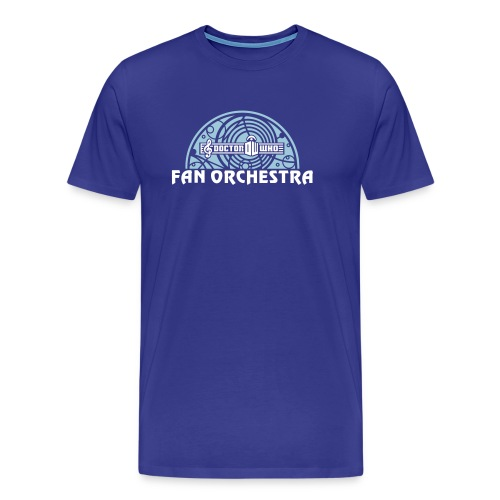 DWFO filled arc white-txt - Men's Premium T-Shirt
