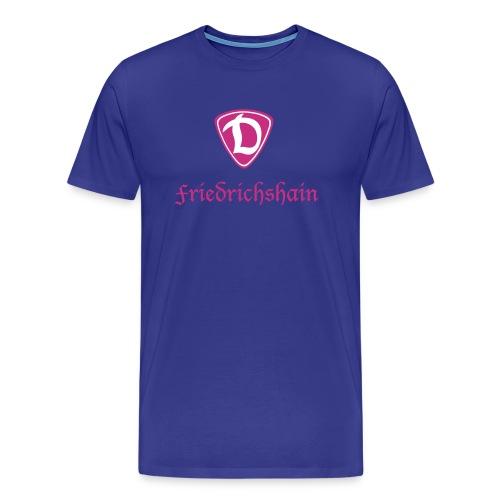 d mit friedrichshain - Männer Premium T-Shirt
