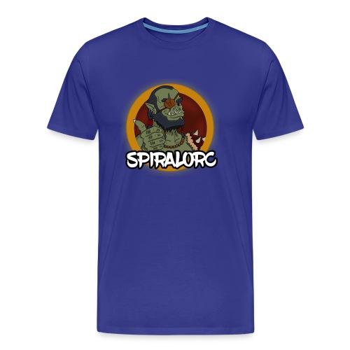 Spiral Orc NO BG - Men's Premium T-Shirt