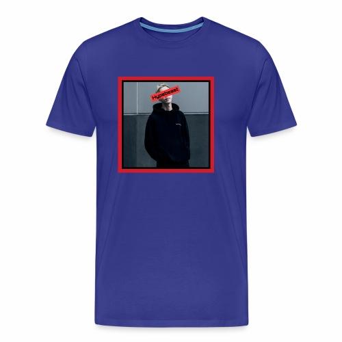 HB #1 red&black box - Maglietta Premium da uomo