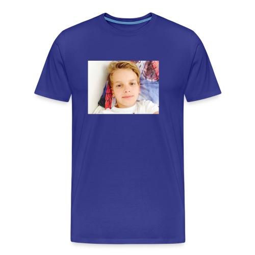 first design - Herre premium T-shirt