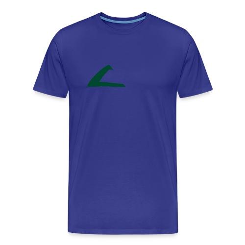 PKMN Cap Logo - Men's Premium T-Shirt