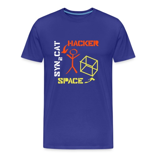 hacker_space - Men's Premium T-Shirt