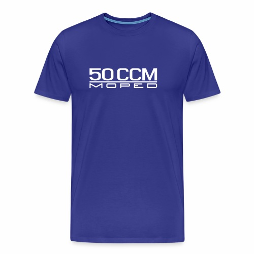 50 ccm Moped Emblem - Men's Premium T-Shirt