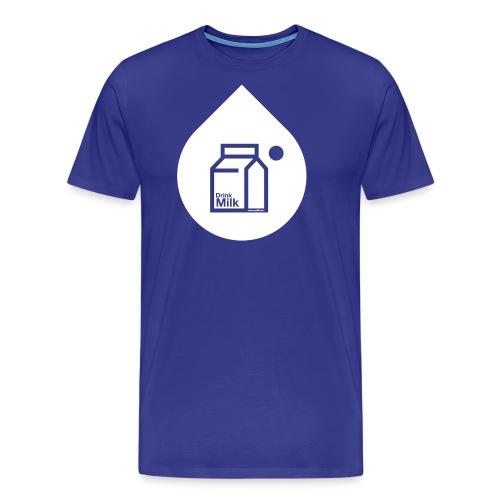milk w - Men's Premium T-Shirt