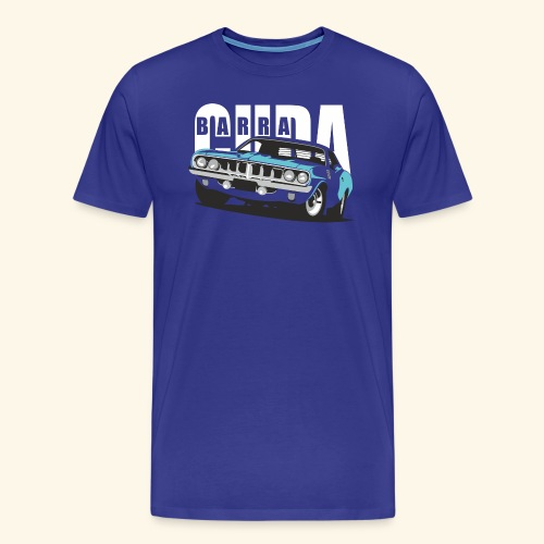 Blue Cuda - Men's Premium T-Shirt