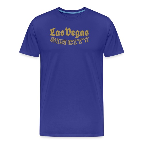 LAS VEGAS SIN CITY - Men's Premium T-Shirt