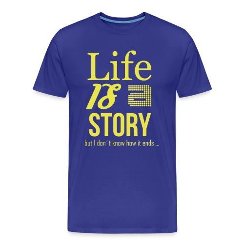 life is - Männer Premium T-Shirt